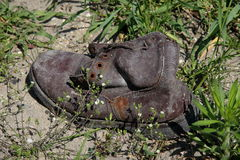 Old shoe Stock Photos