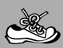 Old shoe Royalty Free Stock Photography
