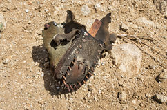 Old Shoe Remains Royalty Free Stock Photography