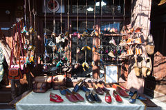 Old Shoe Store Stock Image