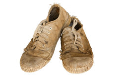 Old shoes Royalty Free Stock Photography