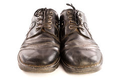 Old shoes. Royalty Free Stock Photo