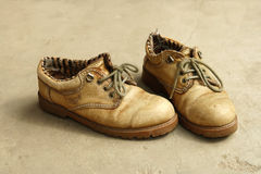 Old shoes Royalty Free Stock Images