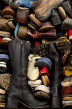 Old shoes backgrounds 5 Royalty Free Stock Image