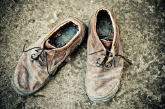 Old shoes Stock Image