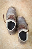 Old shoes Stock Images