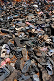 Old shoes in India Stock Images