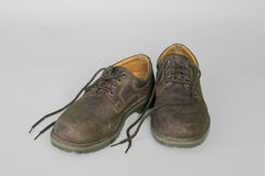 Old shoes Royalty Free Stock Photos