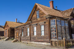 Old shop in Bodie State Park Royalty Free Stock Image