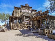 Old Shop  In Goldfield Ghost Town Royalty Free Stock Photo