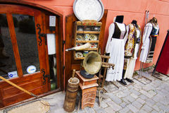 Old shop in Sighisoara Stock Image