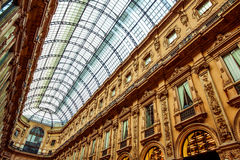 Old Shopping Centre in Milan Stock Photos