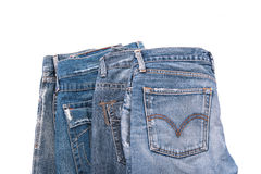 Old short jean  Royalty Free Stock Photography