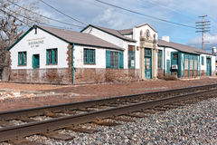 Old Shoshone, Idaho railroad station Stock Image