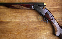 Old shotgun Stock Image