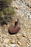 Old Shovel Head Stock Photography