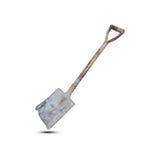 Old Shovel Isolated On White Background Royalty Free Stock Images