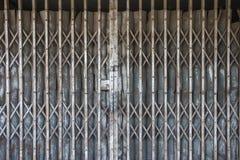 Old shutter door Stock Photo