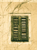 Old shutters (51) closed Royalty Free Stock Images