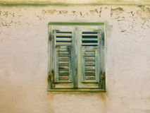 Old shutters (27) closed Royalty Free Stock Image
