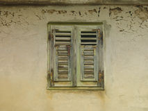 Old shutters (23) closed Stock Photos