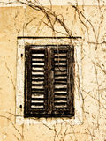 Old shutters closed Royalty Free Stock Photo