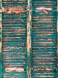 Old shutters texture stock image
