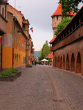 The Old Sibiu, Romania. Situated near the geographical center of Romania, Sibiu is one of the most important cultural romanian centres and was designated the Royalty Free Stock Image
