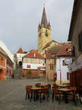 The Old Sibiu, Romania Royalty Free Stock Photo