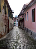 The Old Sibiu, Romania. Situated near the geographical center of Romania, Sibiu is one of the most important cultural romanian centres and was designated the Stock Image