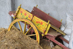 Old Sicilian chariot Royalty Free Stock Photo