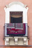 Old sicilian window Royalty Free Stock Photography