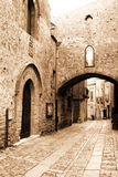 Old Sicily,  Eriche city Royalty Free Stock Photo
