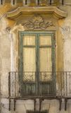 Old siclian window Royalty Free Stock Photos