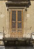 Old siclian window Stock Image