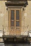 Old siclian window Stock Image