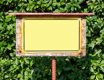 Old sign Royalty Free Stock Photos