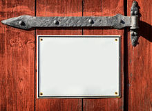 Old sign Stock Image