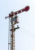 Old signal pole Royalty Free Stock Photos