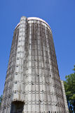 Old Silo From Ground stock images