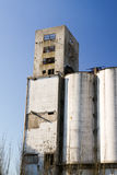 Old silos Royalty Free Stock Image
