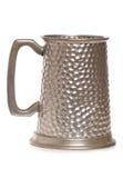 Old Silver Beer Mug Royalty Free Stock Image