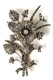 Old Silver Brooch Stock Photos