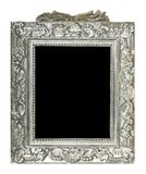 Old silver frame Stock Photography