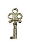 Old Silver Key Royalty Free Stock Photo