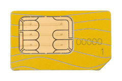 Old Sim-card Stock Photography