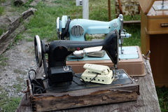 Old singer sewing machines Stock Image