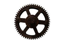 Old Single Gear. The Old Single Gear of Thailand Stock Photography