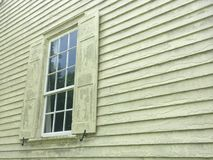 Old Single Window On Home Stock Photography