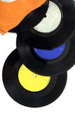 Old singles Stock Images